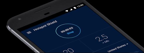 Hotspot Shield VPN android 2